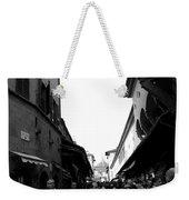 Street Of Florence Weekender Tote Bag