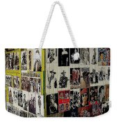 Street Photographer's Shed Icons Us/mexico Border Nogales Sonora  Mexico 2003 Weekender Tote Bag