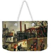 Street Scene In Paris, 1926 Weekender Tote Bag