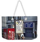 Street Scene With Coke Machine No. 2110 Weekender Tote Bag