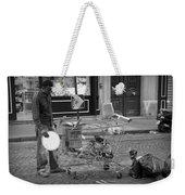 Street Vendor Weekender Tote Bag by Chevy Fleet