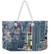 Street View Tokyo Weekender Tote Bag