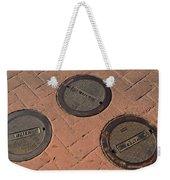 Street Water Covers Weekender Tote Bag
