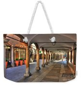 Street With Arches And Columns Weekender Tote Bag