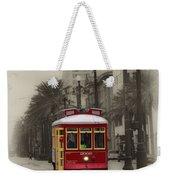 Streetcar On Canal Street - New Orleans Weekender Tote Bag