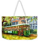 Streetcar On St.charles Avenue Weekender Tote Bag