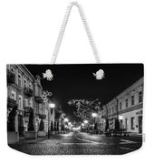 Streets Before Christmas Weekender Tote Bag