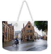 Streets Of Brugges 3 Weekender Tote Bag