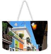 Streets Of Old San Juan Weekender Tote Bag