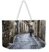 Streets Of Segovia Weekender Tote Bag