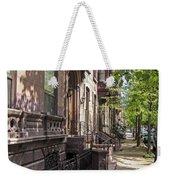 Streets Of Troy New York Weekender Tote Bag