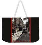 Streets Of York Weekender Tote Bag