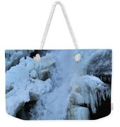Strength Of Water And Ice Weekender Tote Bag