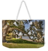 Stretch To The Water Weekender Tote Bag