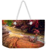 Striated Creek Weekender Tote Bag