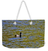 Striking Scaup Weekender Tote Bag
