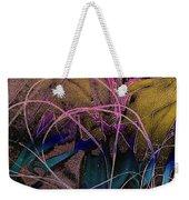 String And Fabric Weekender Tote Bag
