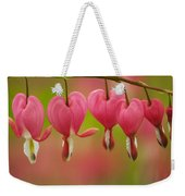 String Of Hearts Weekender Tote Bag