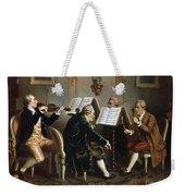String Quartet Weekender Tote Bag