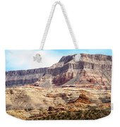 Striped Mountains Weekender Tote Bag
