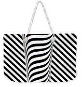 Striped Water Weekender Tote Bag
