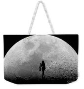 Stripper On The Moon Weekender Tote Bag