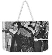Strippers On Hold Weekender Tote Bag