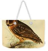 Strix Owl Weekender Tote Bag