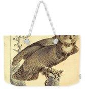 Strix Virginiana Owl Weekender Tote Bag