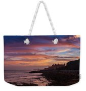 Strokes Of Sunset II Weekender Tote Bag