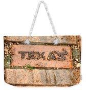 Stroll Down Texas Lane Weekender Tote Bag