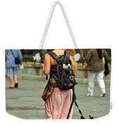 Strolling In Jackson Square Weekender Tote Bag