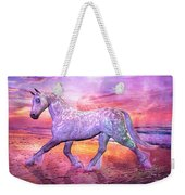 Strolling In Paradise Weekender Tote Bag by Betsy Knapp