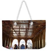 Strolling Through The Arches Weekender Tote Bag