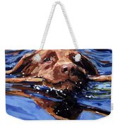 Strong Swimmer Weekender Tote Bag