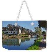 Stroudwater Canal Stonehouse Weekender Tote Bag