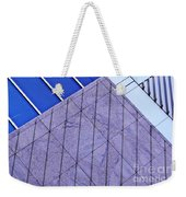 Structural Abstract 7 Weekender Tote Bag by Sarah Loft
