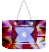Structural Binary Reflection Weekender Tote Bag