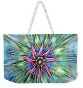 Sttained Glass Window Weekender Tote Bag
