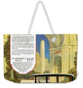 Studebaker Big Six - Vintage Car Poster Weekender Tote Bag