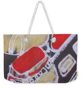 Students Are Traveling To An Excursion By                    Bus To Zoo Garden Weekender Tote Bag