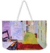 Studio Space, Ivor Street, Nw1 Oil On Canvas Weekender Tote Bag