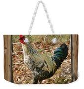 Studio Window Rooster Weekender Tote Bag