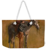 Study For Cowboys In The Badlands Weekender Tote Bag