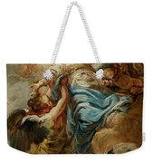 Study For The Assumption Of The Virgin Weekender Tote Bag by Jean Baptiste Deshays de Colleville