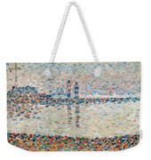 Study For The Channel At Gravelines Evening Weekender Tote Bag