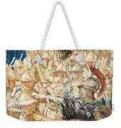 Study For The Coming Of The Americans Weekender Tote Bag