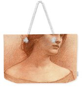 Study For The Lady Clare Weekender Tote Bag