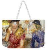 Study For The Soda Fountain Weekender Tote Bag