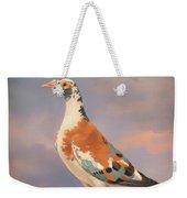 Study Of A Carrier Pigeon Weekender Tote Bag